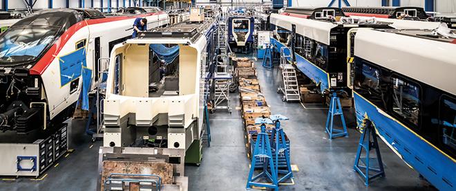 stadler ipar 4.0 gyárlátogatás